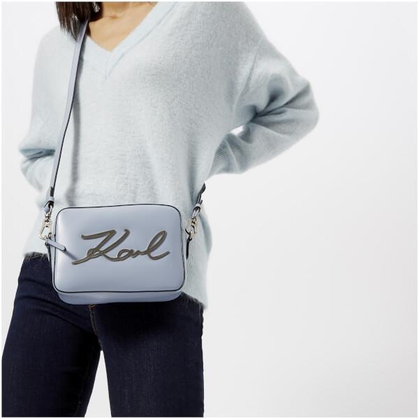 Karl Lagerfeld Signature camera bag DfzG7D