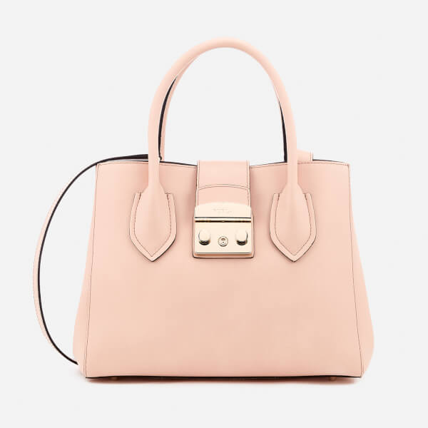Furla Women's Metropolis Small Tote Bag - Nude