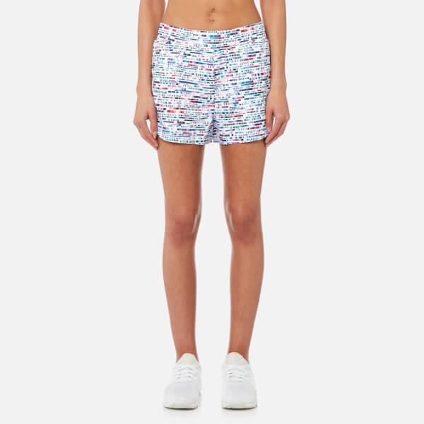 Lucas Hugh Women's Glitch Shorts - Glitch Print