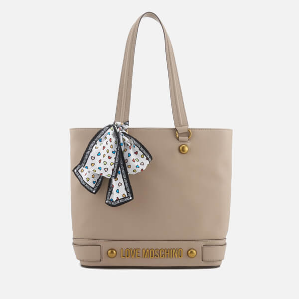 Love Moschino Women's Shopper Bag - Taupe