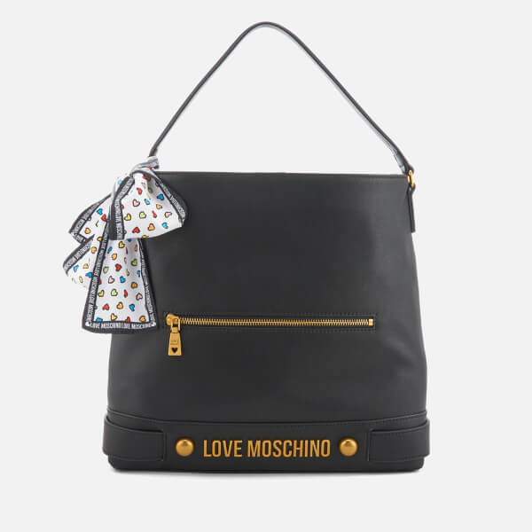 Love Moschino Women's Slouchy Tote Bag - Black