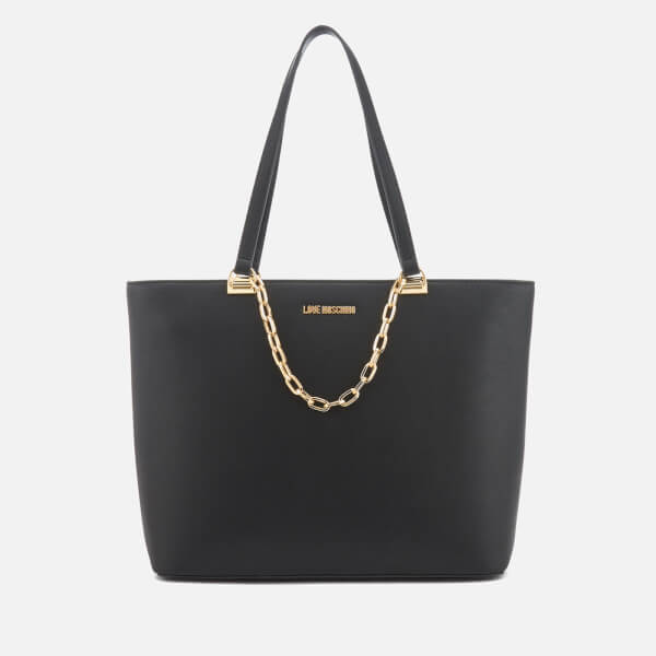 Love Moschino Women's Large Tote Bag - Black