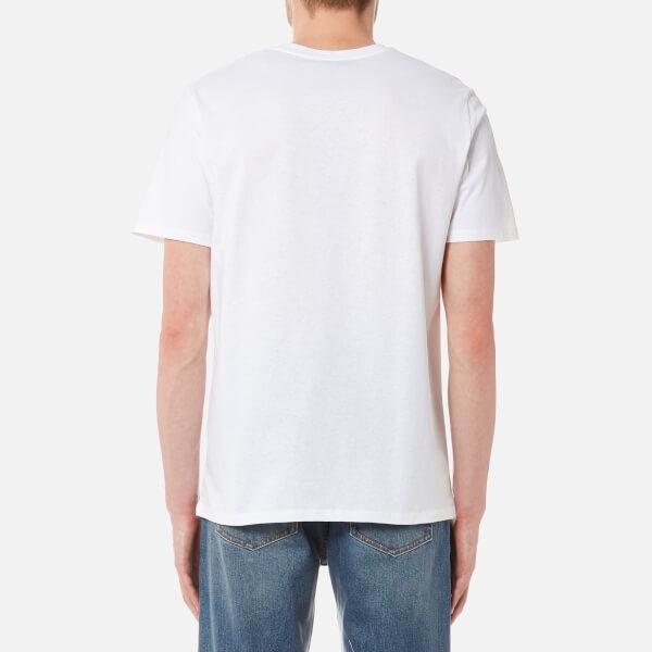 A.P.C. Men's Kraft Printed T-Shirt - Rouge: Image 2