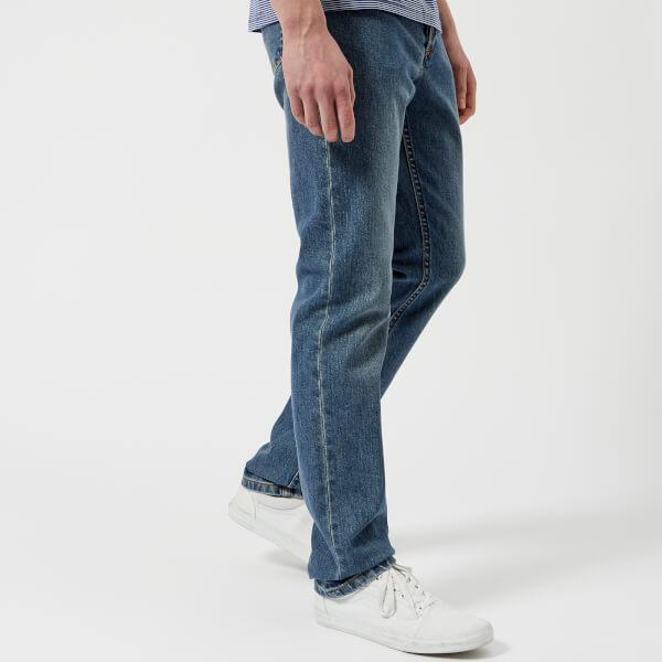 A.P.C. Men's Petit Standard Low Rise Fitted Leg Jeans - Indigo Delave