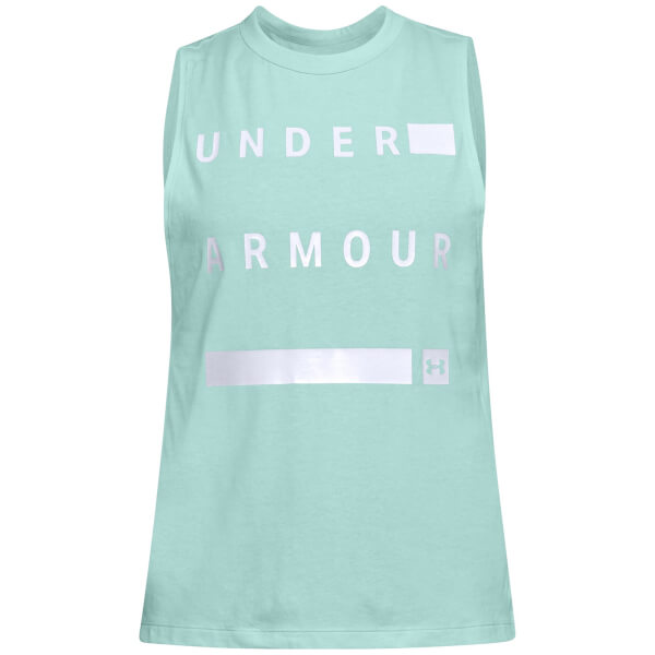 Under Armour Women's Graphic Muscle Tank Top - Green