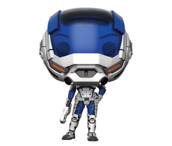 Mass Effect Andromeda Masked Sarah Ryder EXC Pop! Vinyl Figure