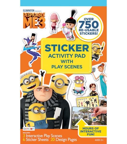 Despicible Me 3 Sticker Play Scene