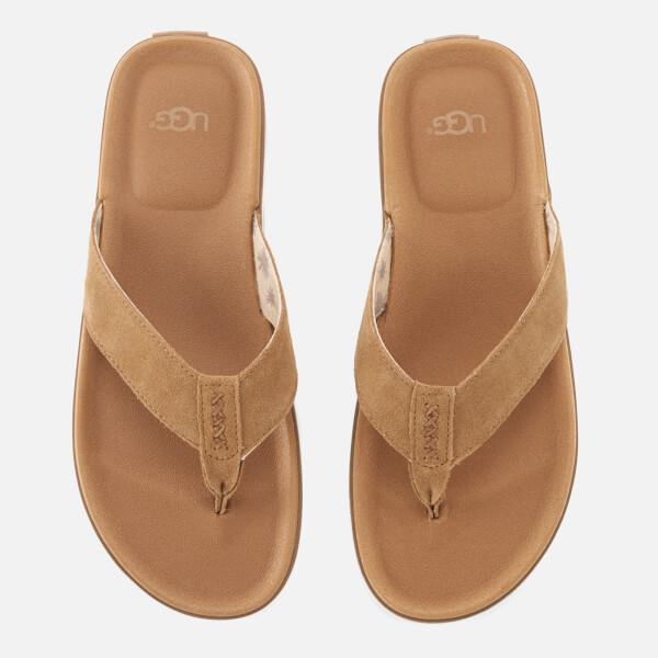 Ugg Mens Braven Flip Flops - Chestnut  Free Uk Delivery  Allsole-8819