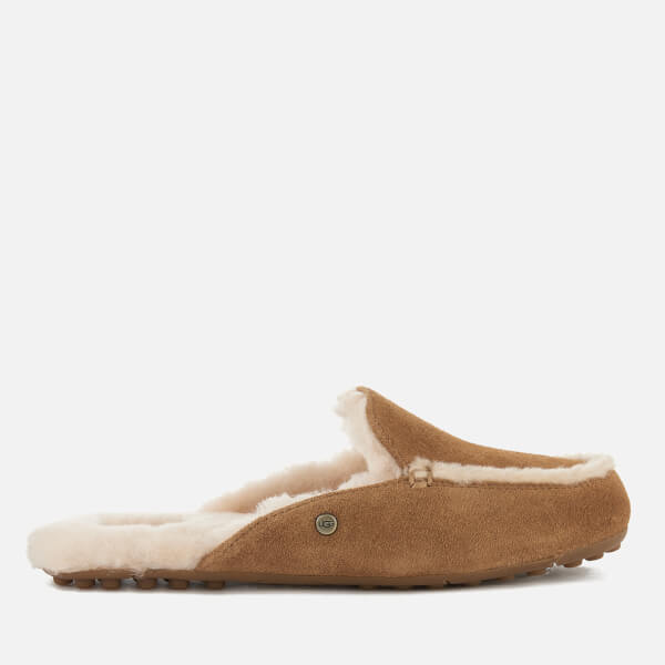 UGG Women's Lane Suede Slippers - Chestnut