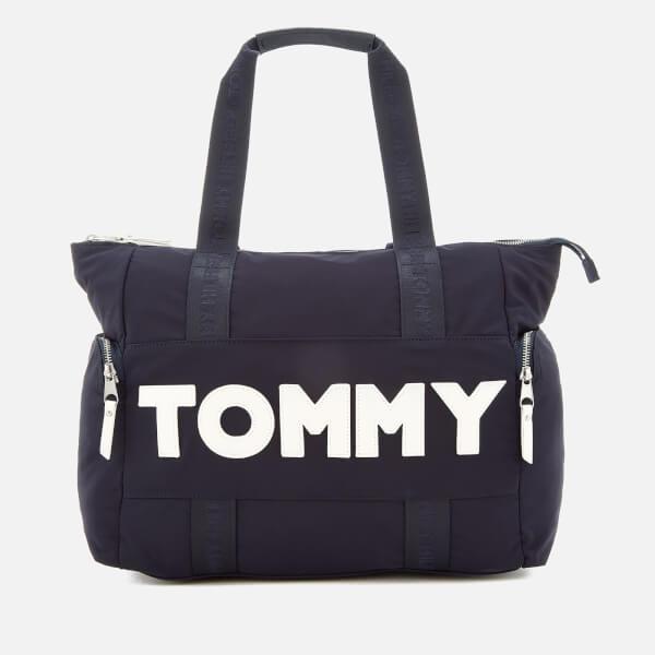 Tommy Hilfiger Women's Tommy Nylon Tote Bag - Navy