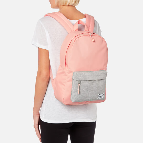 896907f1911 Herschel Supply Co. Women s Classic Mid-Volume Backpack - Peach Light Grey  Crosshatch