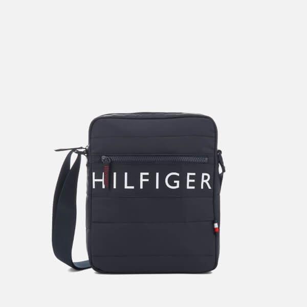 Tommy Hilfiger Men's Light Nylon Reporter Bag - Tommy Navy