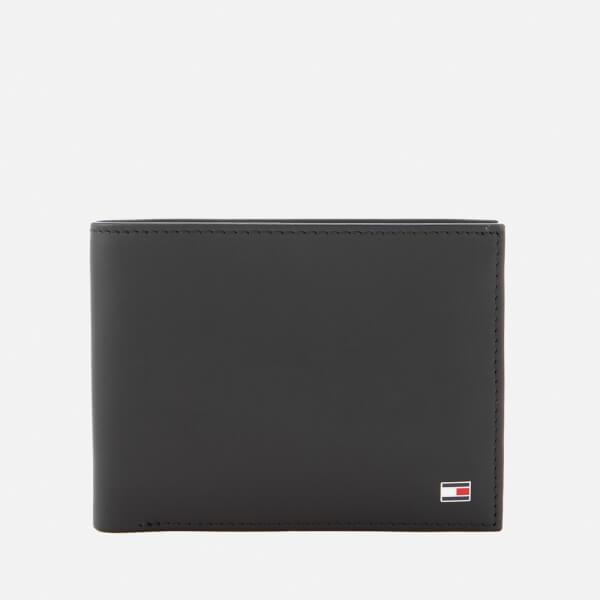 Tommy Hilfiger Men's Eton Credit Card and Coin Pocket Wallet - Black