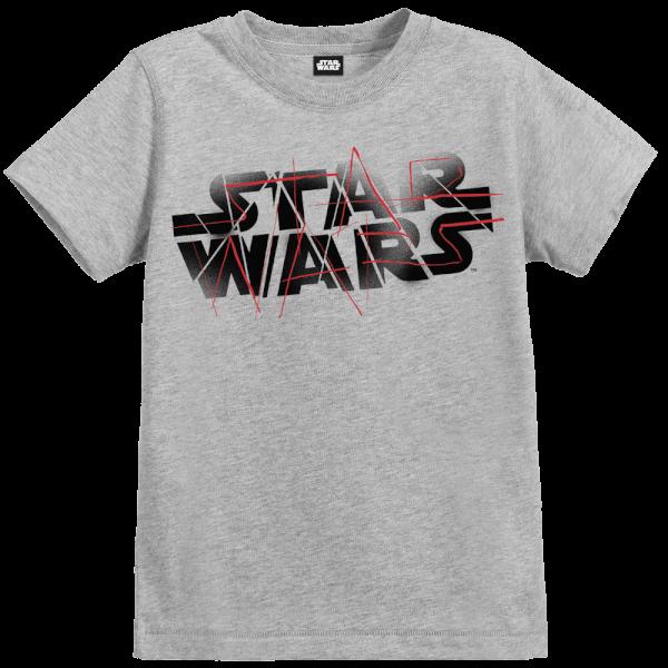 Star Wars The Last Jedi Spray Kid's Grey T-Shirt