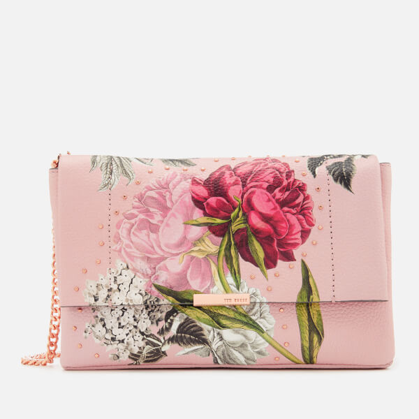 Ted Baker Women's Ploomi Palace Gardens Cross Body Bag - Dusky Pink