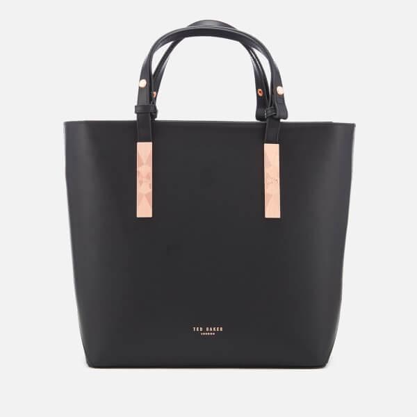 Ted Baker Women's Jaceyy Adjustable Handle Zip Shopper Bag - Black