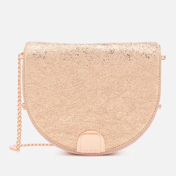 Ted Baker Women's Roxaane Flip Clasp Moon Bag - Rose Gold