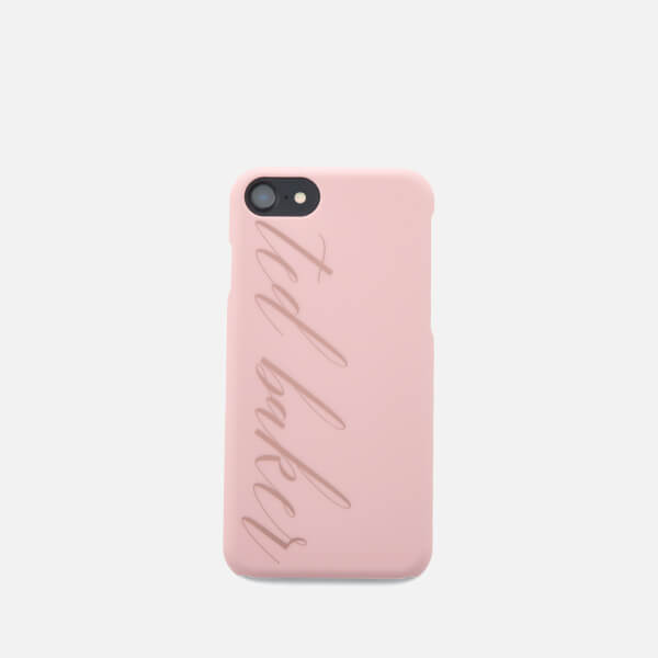Ted Baker Women's Tharese Logo iPhone Clip Case - Light Pink