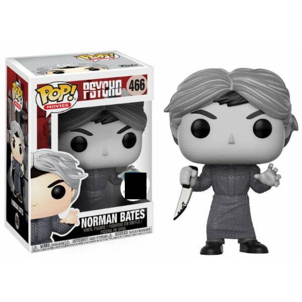 Horror Psycho Black and White EXC Pop! Vinyl Figure