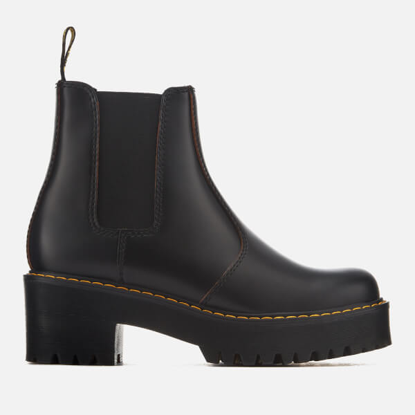 Dr. Martens Women's Rometty Vintage Smooth Leather Heeled ...