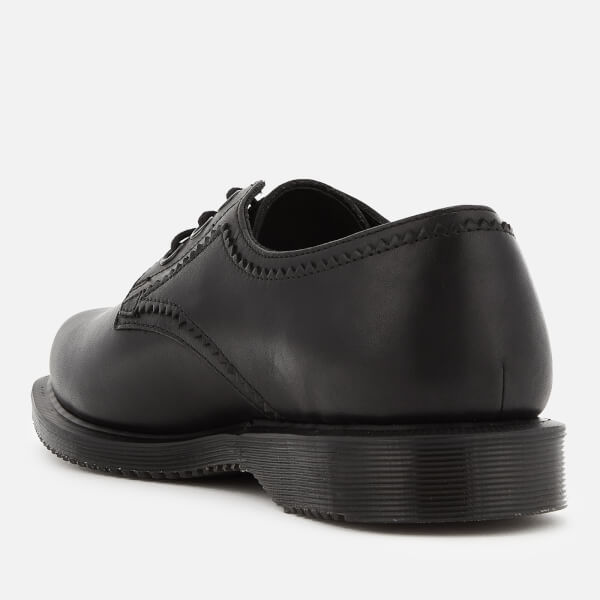 Dr. Martens Women's Trulia Temperley Leather 3-Eye Flat Shoes - - UK 3 16URhi