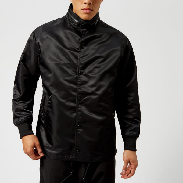 y 3 men s street coach jacket black free uk delivery over 50