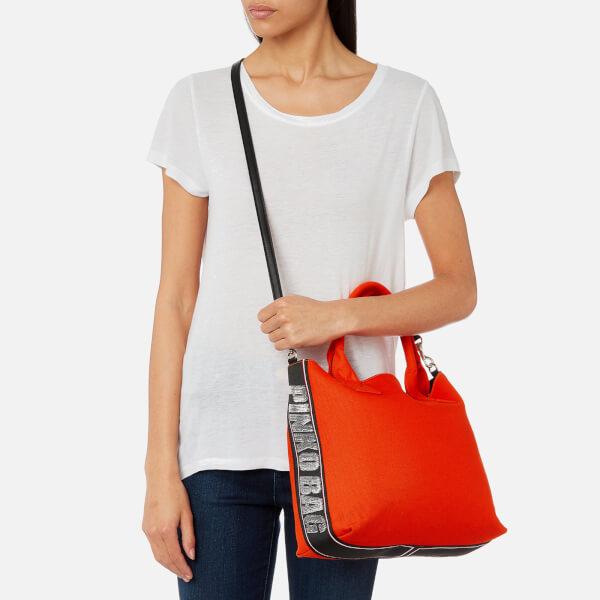 Pinko Women's Abadeco Shopping Tote Bag - Orange: Image 21