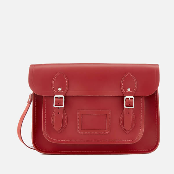 The Cambridge Satchel Company Women's 13 Inch Classic Satchel - Red