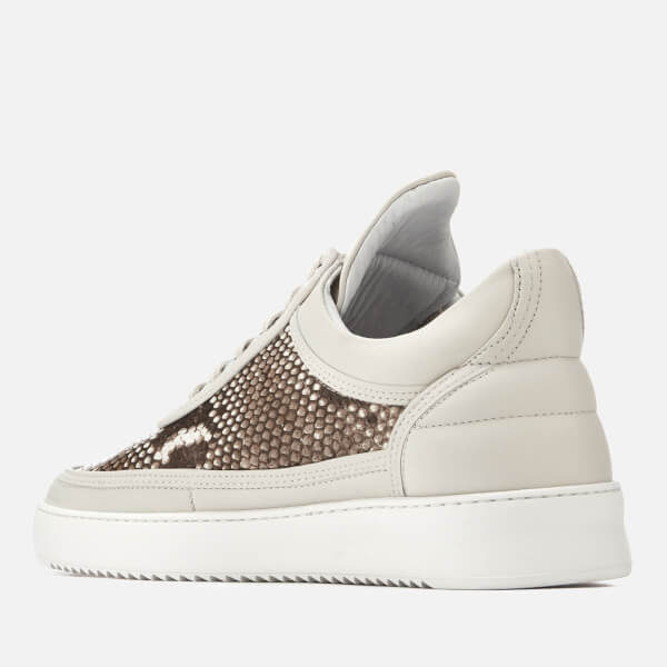 Filling pieces Men's Ripple Python Low Top Trainers - - UK 8.5 dX7DL