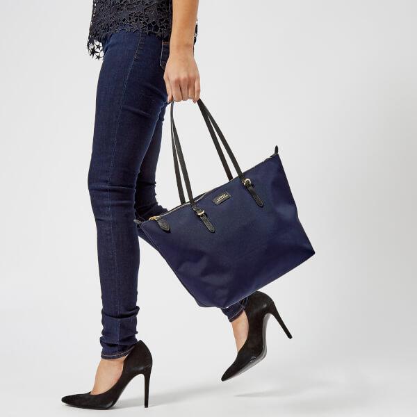 f0627c08a87c Lauren Ralph Lauren Women s Chadwick Shopper Bag - Navy  Image 3