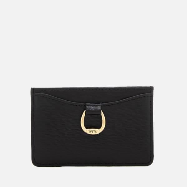 Lauren Ralph Lauren Women's Bennington Small Mini Card Case - Black