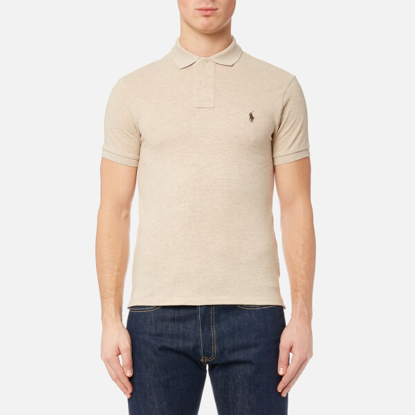 Polo Ralph Lauren SLIM FIT - Polo - expedition dune IsgxDKMq