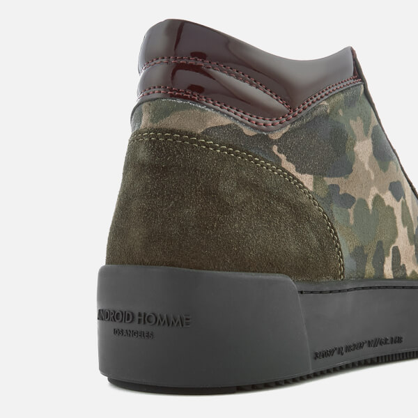 8338f21e78e0 Android Homme Men s Propulsion Mid Camouflage Trainers - Camo  Image 6