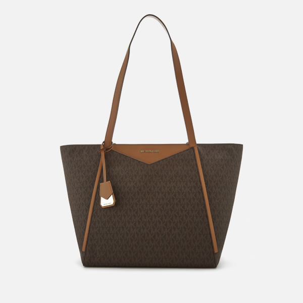 Michael Kors Women S Whitney Large Tote Bag Brown Image 1