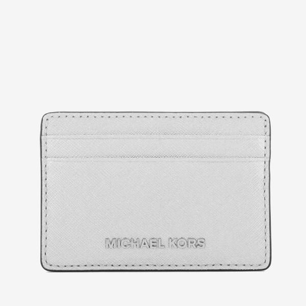 MICHAEL MICHAEL KORS Women's Card Holder - Silver