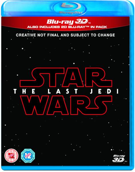 Star Wars: The Last Jedi 3D (Includes 2D Version)