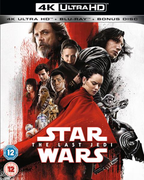 Star Wars The Last Jedi 4k Ultra Hd Blu Ray Zavvi
