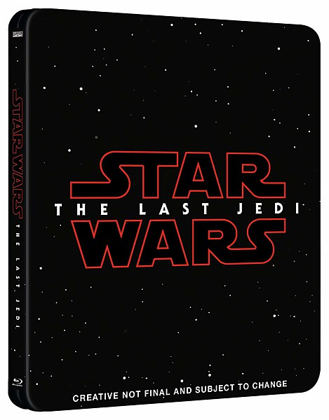 Star Wars: The Last Jedi 3D (Includes 2D Version) - Zavvi Exclusive Limited Edition Steelbook
