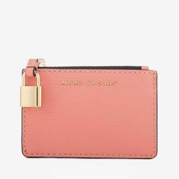 Marc Jacobs Women's Top Zip Multi Wallet - Coral