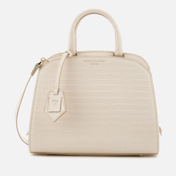 Aspinal of London Women's New Hepburn Mini Tote Bag - Ivory
