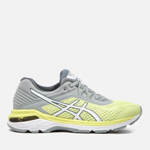 ASICS Chaussures de running stables - limelight/white/mid grey vng3ZPCA6v