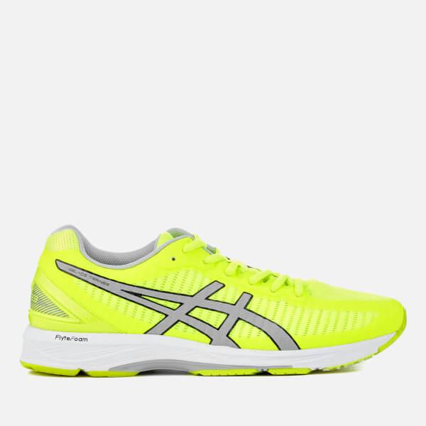 asics yellow trainers