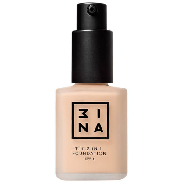 3INA 3-in-1 Foundation 30ml (Various Shades)
