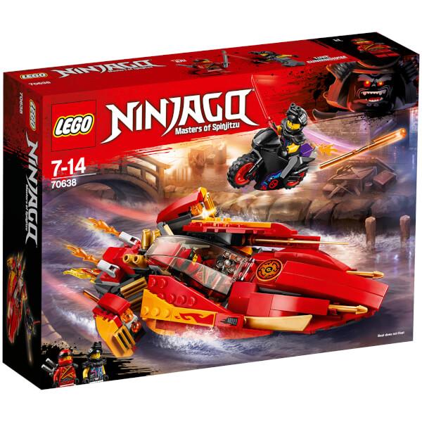 The LEGO Ninjago Movie: Katana V11 (70638) Toys | Zavvi