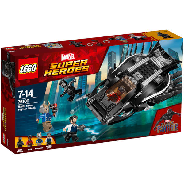 LEGO Superheroes: Black Panther Royal Talon Fighter Attack (76100)