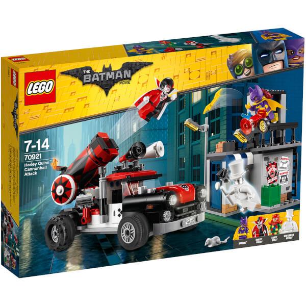 The LEGO Batman Movie: Harley Quinn Cannonball Attack (70921)
