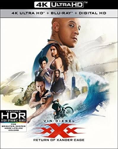 XXX: Return Of Xander Cage - 4K Ultra HD