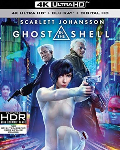 Ghost In The Shell - 4K Ultra HD