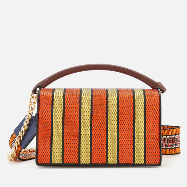 Diane von Furstenberg Women's Bonne Soirée Bag - Orange/Yellow/Black