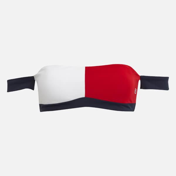 Tommy Hilfiger Women's Bandeau Bikini Top - Multi